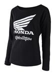 Troy Lee Designs 2018 Womens Honda Wing Crew - Black