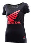 Troy Lee Designs 2018 Womens Honda Wing Tee - Black