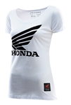 Troy Lee Designs 2018 Womens Honda Wing Tee - White