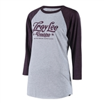 Troy Lee Designs 2018 Womens Spiked Long Sleeves Raglan - Purple/ White