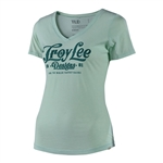 Troy Lee Designs 2018 Womens Spiked V-Neck - Mint