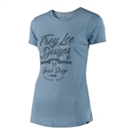Troy Lee Designs 2018 Womens Widow Maker Crew - Dusty Blue