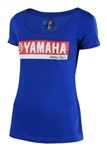Troy Lee Designs 2018 Womens Yamaha RS2 Tee - Blue