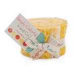 Simply Colorful Yellow Junior Jelly Roll