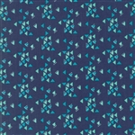 Spectrum Indigo Triangles Yardage