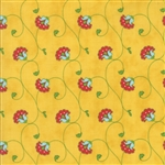 Caravan Roundup Yellow Rose Wonderlust Yardage