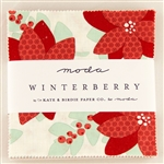 "Winterberry 5"" Charm Squares"