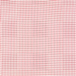 Miss Scarlet Scarlet on Ivory Plaid Yardage