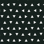 Remix Black Triangles Yardage