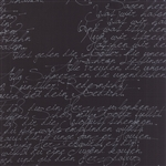 Modern Background Ink Black Handwriting Yardage