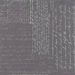 Modern Background Ink Graphite Notes Yardage