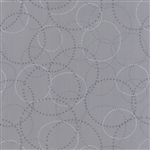 Modern Background Ink Zen Steel XOXO Yardage