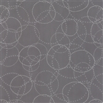 Modern Background Ink Graphite XOXO Yardage