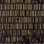 Modern Background Luster Metallic Black Scales Yardage