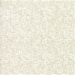 Modern Background Luster Metallic White Grid Yardage