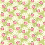Ambleside Willow Lacy Daisy Rose Yardage