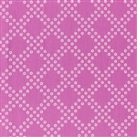 Mochi Bright Plum Dottie's Cousin Yardage