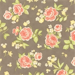 Strawberry Fields Revisited Stone Summer Bouquet Yardage