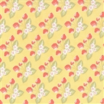 Strawberry Fields Revisited Butter Strawberry Jam Yardage