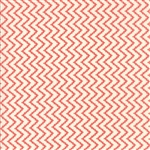 Coney Island Candy Apple Red Zig-Zag Yardage