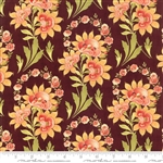 Hazel & Plum Plum Harvest Bouquet Yardage  SKU# 20290-15  Hazel Plum by Fig Tree Quilts for Moda Fabrics