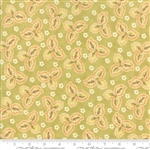 Hazel & Plum Citron Autumn Leaves Yardage  SKU# 20292-18  Hazel and Plum by Fig Tree Quilts for Moda Fabricss