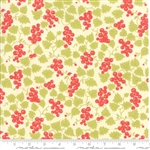 Hazel & Plum Cream Berries Yardage  SKU# 20297-17  Hazel and Plum by Fig Tree Quilts for Moda Fabrics