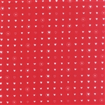 Lil' Red Red Sweet Hearts Yardage