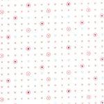 Lil' Red Pink on Cloud Sweet Hearts Yardage