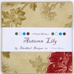 Autumn Lilly Charm Squares