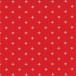 Winter Wonderland Redwork Starlight Yardage