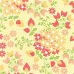 Sundrops Yellow Bouquet Yardage