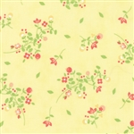 Sundrops Yellow Blossoms Yardage