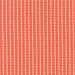 Sundrops Dark Coral Beaded Stripe Yardage