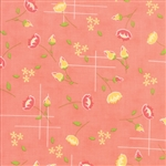 Lulu Lane Peach Meadow Yardage