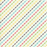 Lulu Lane Multi Petal Stripe Yardage
