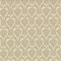 Basicgrey Floral Damask Best Dressed Natural Yardage