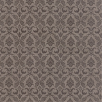 Black Tie Affair Tonal Grey Fleur De Lis Yardage