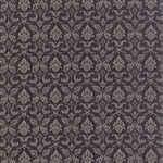 Black Tie Affair Grey Black Fleur De Lis Yardage
