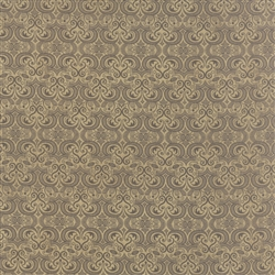 Black Tie Affair Grey Tan Vignette Yardage
