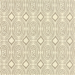 Black Tie Affair Tan on Cream Woven Vine Yardage