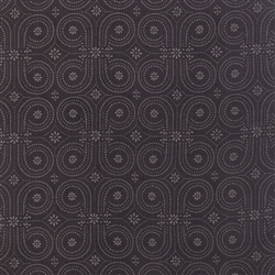 Black Tie Affair Black Vintage Wallpaper Yardage