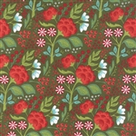 Juniper Berry Pine Holly Jolly Yardage