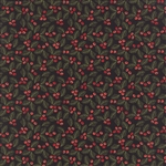 Juniper Berry Coal Holly Berry Yardage