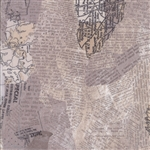 Compositions Taupe Maps Yardage
