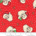 Swell Christmas Red Santa Yardage 31120-13