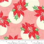 Swell Christmas Pink Poinsettia Polka Dot 31121-12