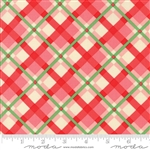 Swell Christmas Pink-Red Plaid 31122-15
