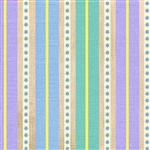 Happy Camper Purple Striped Roads Yardage