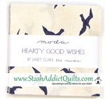 "Hearty Good Wishes 5"" Charm Squares"
